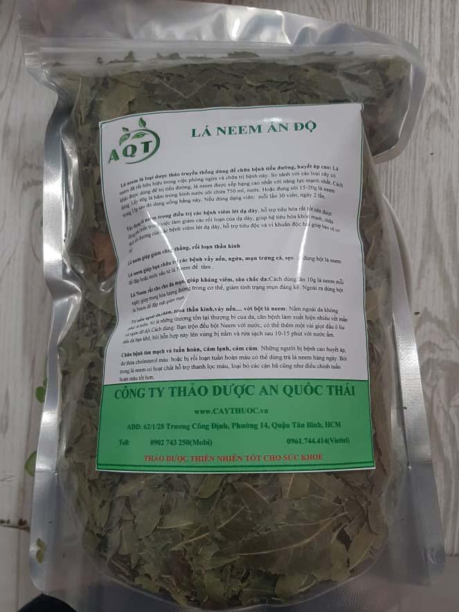 trà lá neem bán ở đâu